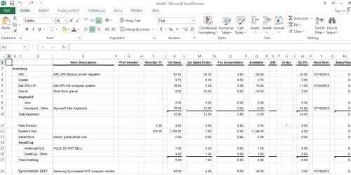Microsoft-Excel-Venta-Suscripciones-México
