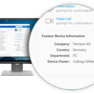TeamViewer corporate-device-information