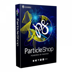 Corel particle Shop